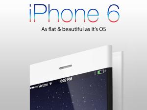 フラットなのはUIだけじゃなかった!折りたたみ式の全く新しいiPhone 6 - Apple iPhone 6 Concept