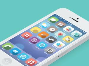 こっちのほうが好き! デザインし直されたiOS7のインターフェースがカワイイ! - iOS7 Fancy Redesign