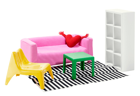 IKEA miniature furniture