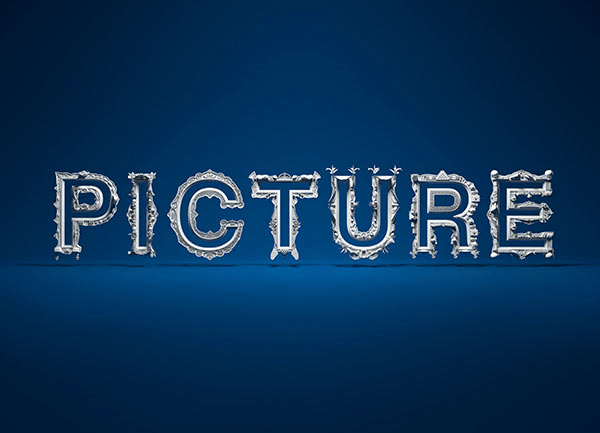 Picture Frame Typography