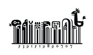 これぞ神は細部に宿る!大胆に描かれたデザインバーコード - Steve Simpson's Illustrated Barcodes