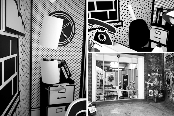 Real Life London Pop Art Office