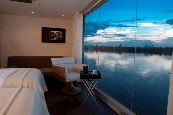 Aqua Amazon Luxury Boutique Hotel Boat