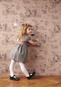 メルヘンすぎる!おとぎ話のような魔法のマグネット壁紙 - Magical Magnetic Wallpaper