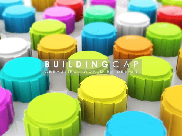 これは素敵なアイデア!集めて遊べるエコなペットボトルキャップ eco friendly building cap