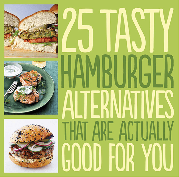 25 Tasty Hamburger without meat