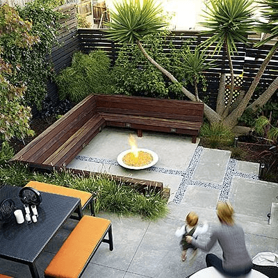 Backyard Dining