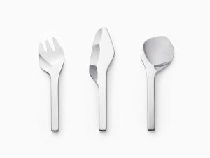 レトロで斬新!現代に産まれた石器時代の道具のような美しいカトラリー - sekki cutlery