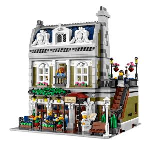 これは良くできてる!細かい作りが素晴らしいLEGO「パリのレストラン」 - LEGO Parisian Restaurant
