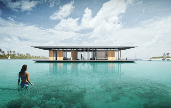 floating house
