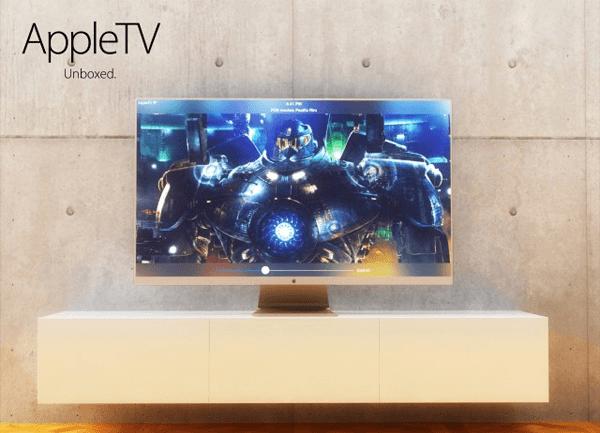 これは発売が待ち遠しい!Appleが新しいテレビを作るとこうなる! - Apple TV Concept