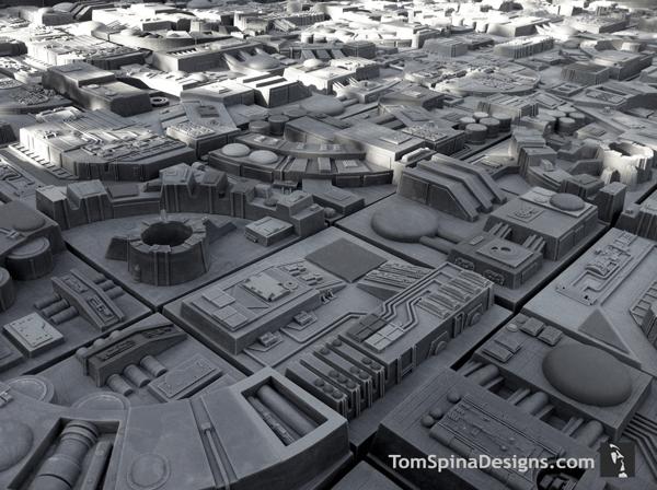 これであなたのお部屋もデス・スター!スターウォーズマニアにはたまらない壁タイル - Death Star inspired wall tiles