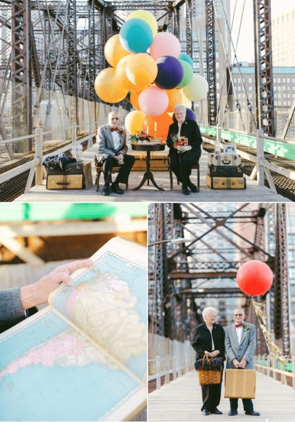 結婚61年目の素敵なアニバーサリー。ニーナとおじいちゃん - Nina & Gramps