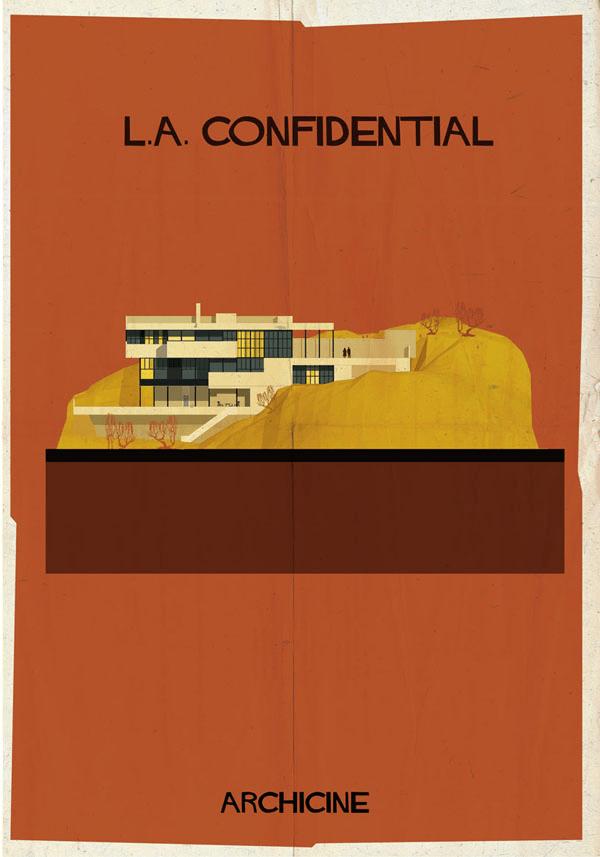 ステキすぎる世界観。建築家兼イラストレーターが見た銀幕の世界 - ARCHICINE