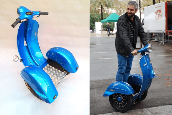 The First Vespa Segway