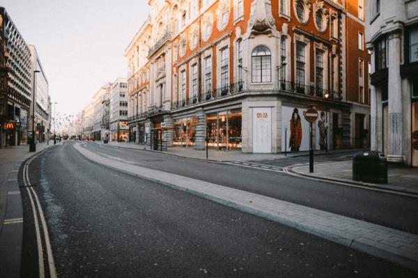 Empty Silent London