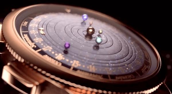 値段も宇宙級! 美しすぎる宇宙を刻む腕時計 - Midnight Planétarium