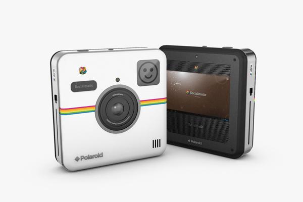 リアルに写真を残せるInstagram! スマホと連携するポラロイドカメラ - Polaroid Socialmatic Camera