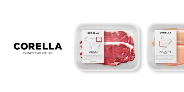 ここで買いたくなる! シンプルで美しいパッケージの肉屋さん - CORELLA