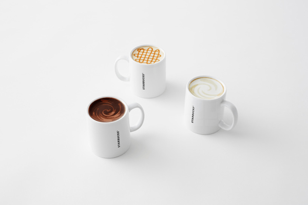 mug collection for starbucks by nendo