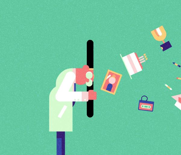 じわじわくる。見ていて気持ちいいアニメーションするイラスト - Animated Illustrations