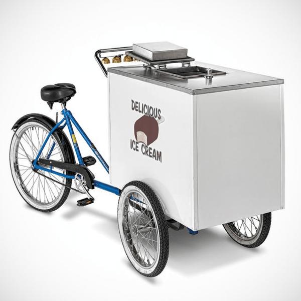 これで走り回りたい。誰でも今すぐアイスクリーム屋になれる自転車 - Ice Cream Cart