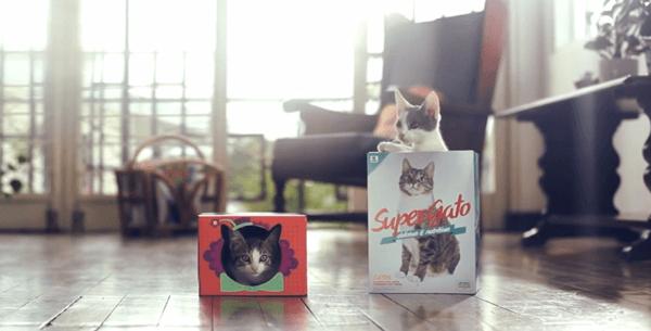 猫まっしぐら! 売上が31%もアップしたパッケージデザインによる革命 - Super Gato