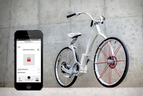 スマホでロックできる!スマートすぎる折りたたみ電動自転車 - Gi-Bike