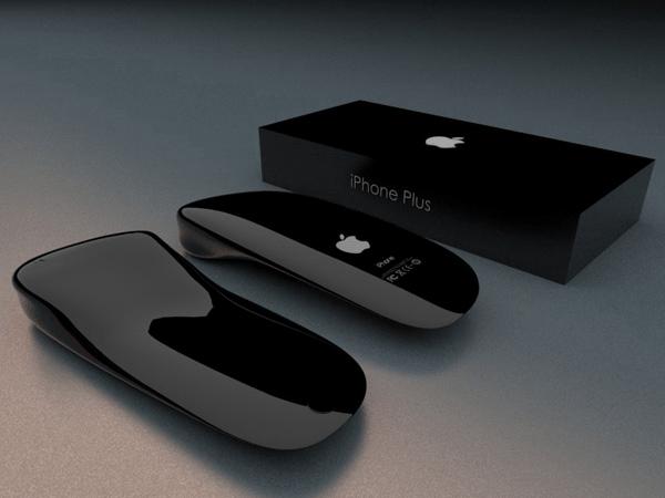 全く新しい形のiPhone! 新時代を予感させる斬新なフォルムのiPhone Plus - Apple iPhone Plus