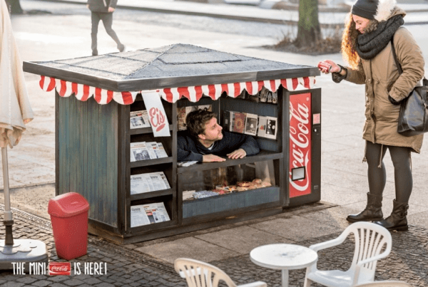 The Coca-Cola Mini Kiosk