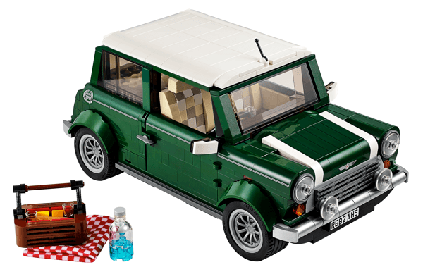 The new Lego Mini Cooper