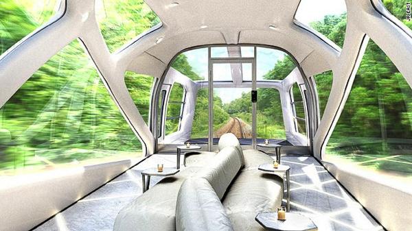 豪華!フェラーリデザイナーによるJR東日本の寝台列車クルーズトレイン - JR East Cruise Train