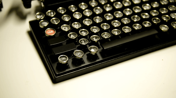 Old Fashioned Keyboard For Ipad