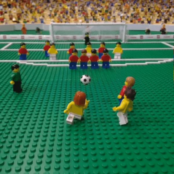 LEGOで再現するW杯ゴールシーン集がすごくかわいい!vine事例としてもステキ - L'ÉQUIPE