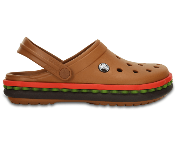 crocband hamburger clog