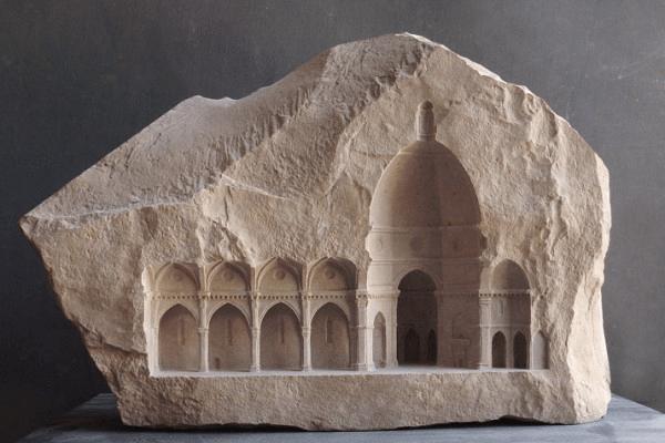 完全に遺跡レベル! 美しすぎる大理石の彫刻がまるでミニチュアの遺跡のよう - sculptures in marble