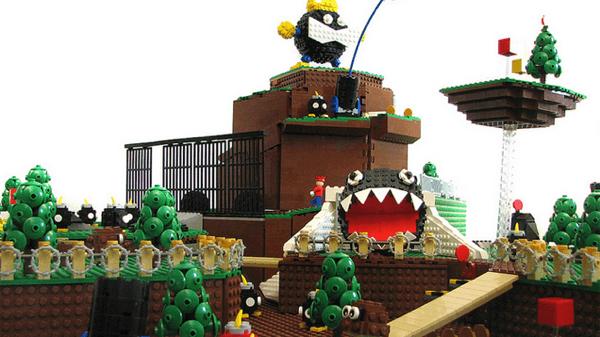 これは胸熱!あの懐かしのスーパーマリオ64の舞台をLEGOで完全再現! - Bob-omb Battlefield LEGO