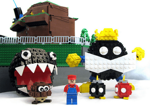 Bob-omb Battlefield LEGO