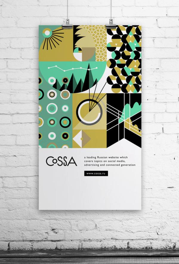 インスピレーション湧きそう。フラットでオシャレなポスターデザインいろいろ - Flat Poster Design