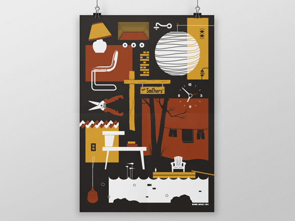 Flat Poster Design
