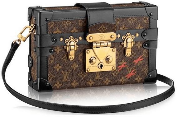 ミニチュアみたいでカワイイ! ルイ・ヴィトンのトランク風ハンドバッグ - Louis Vuitton Petite Malle
