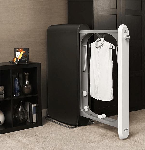 ついに自宅でドライクリーニングが!10分でクリーニングが完了する革命的家庭用家電 - SWASH