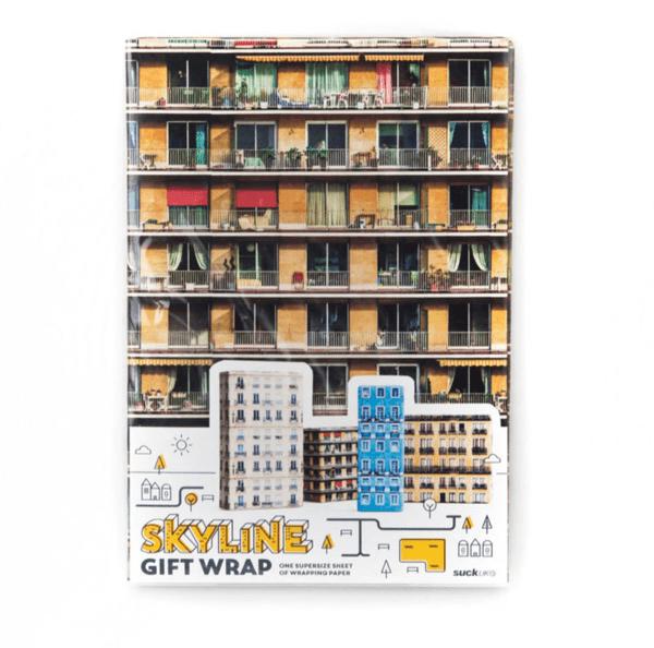 Skyline Gift Wrap
