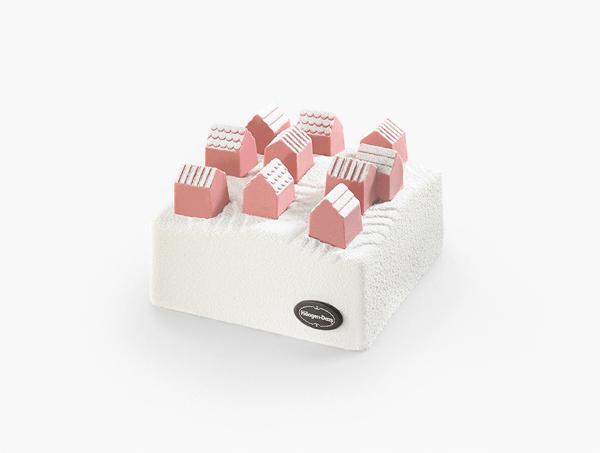 これはかわいい!nendoとコラボのハーゲンダッツクリスマス限定アイスケーキ - ice cream village cake
