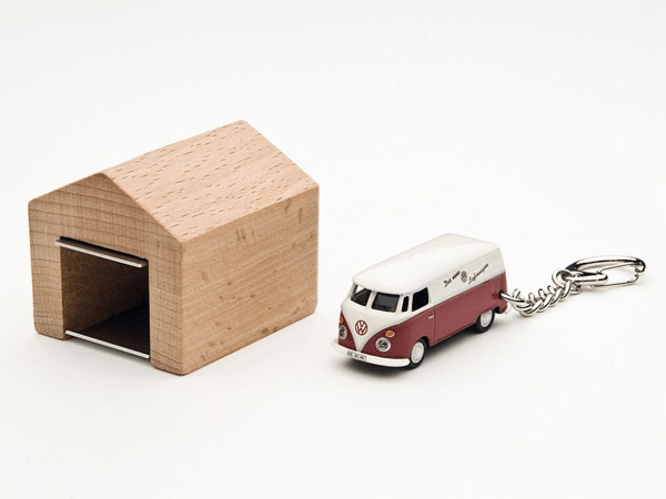 VW Bus Keychain and Garage
