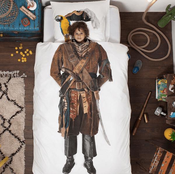 夢の中では海賊王になれる? 子どもの憧れをかなえる布団カバー - PIRATE & BALLERINA
