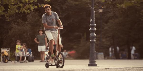 通勤に使いたい!セグウェイのような見た目の斬新な自転車 - Halfbike