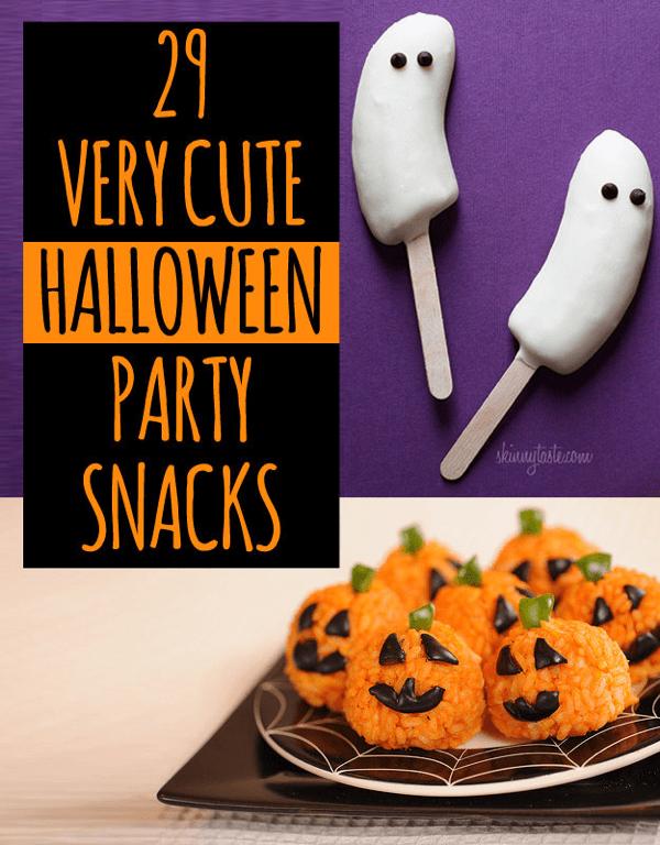 どれもカワイイ!ハロウィンにピッタリな気分を盛り上げるレシピいろいろ - Party Snacks For Halloween
