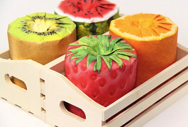 使うのがもったいないかもしれない。フルーツのトイレットペーパー - Fruits Toilet Paper