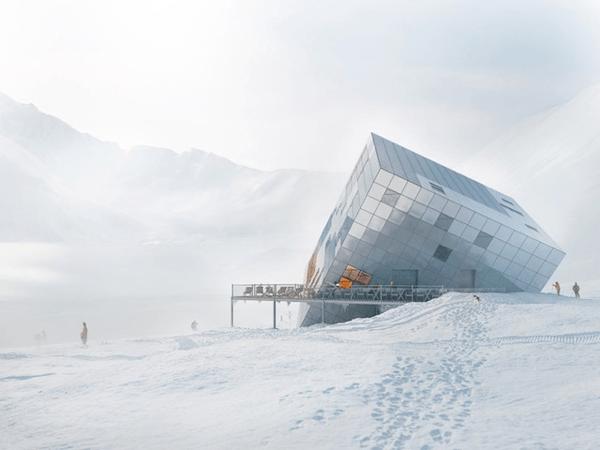 Stunning Cube Hut